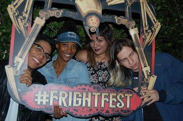Photo From Fright Fest Party Collection By Six Flags Magic Mountain Employee Photos With Images Party Pics Photo