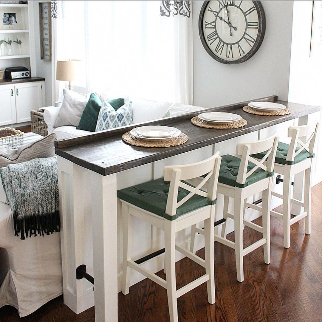 Home Bar Decor Finished   High top table kitchen, Plates ...