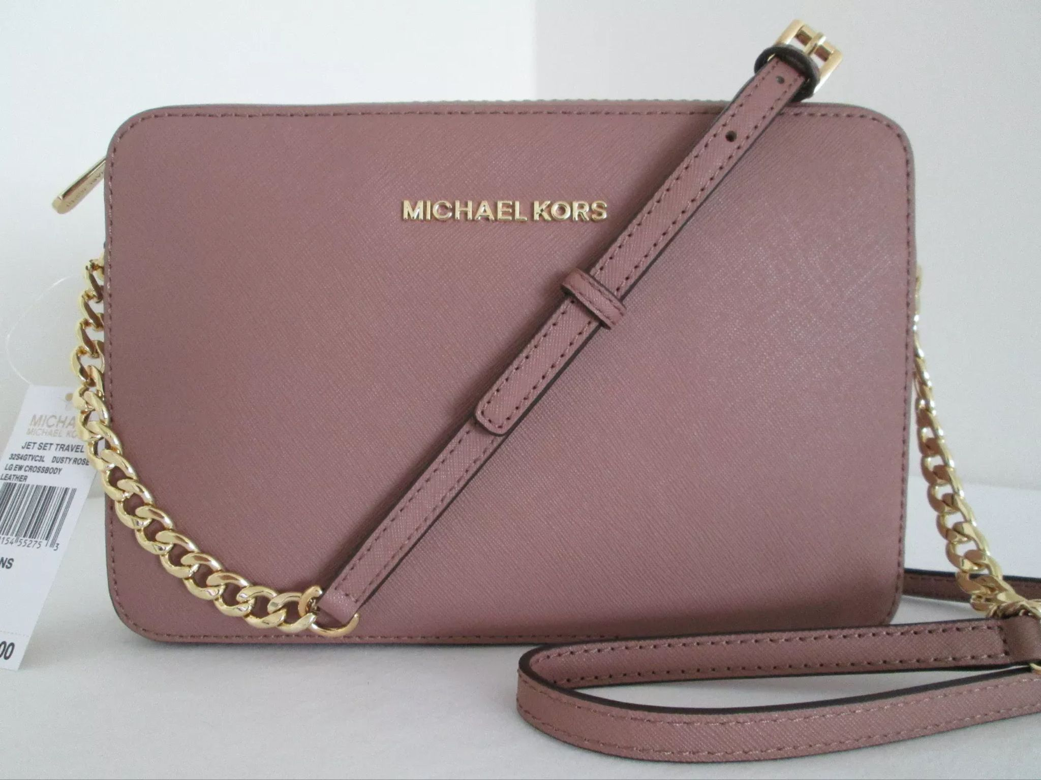 6b83caf3a82fb4 MK dusty Rose with gold chain | Kors in 2019 | Bags, Handbags ...