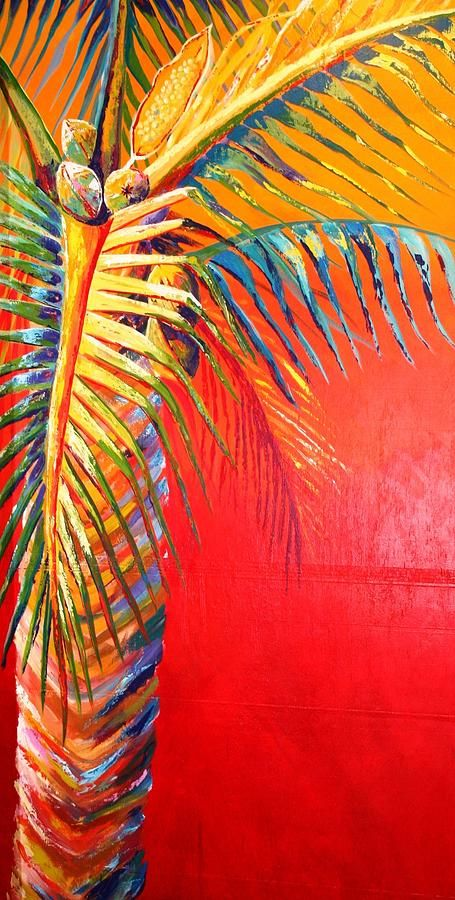 Terrifying Abstract Palms Canvas Painting Poster Halloween Party Art Decoration