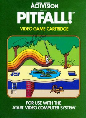 Remember this one? I loved this game on Atari and wish I