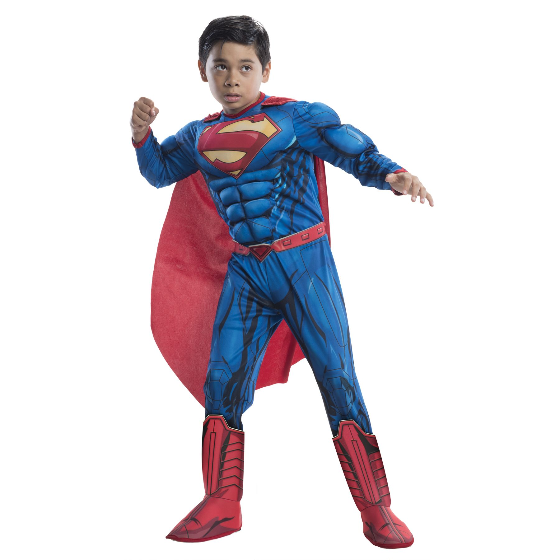 Boy's Deluxe Superman Costume, Size: Large, Blue | Boy ...
