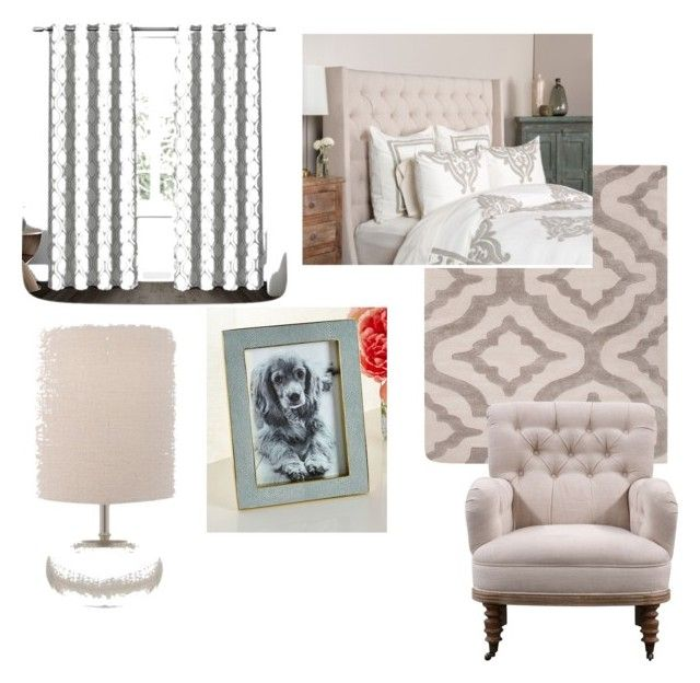 """Cozy Master"" by katrina-bender-wilson ❤ liked on Polyvore featuring interior, interiors, interior design, home, home decor, interior decorating, Jaipur, Exclusive Home, Villa Home Collection and AERIN"