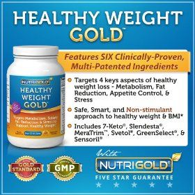Healthy Weight GOLD, 60 Vegetarian Capsules (Contains