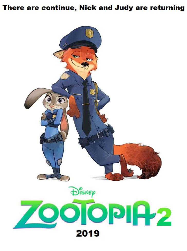 Zootopia 2 Zootopia, Nick wilde, Disney