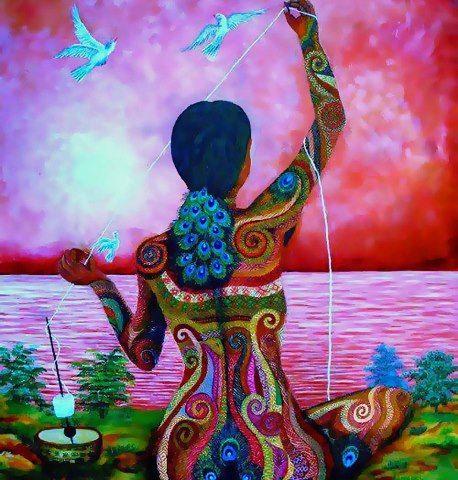 Consejos Del Tao Vivir Sin Luchar Verso 20 Kunst Ideen Idee Farbe Spirituelle Kunst