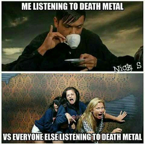 7107309e3a55d0571feecd955c66737f bahahaha music pinterest metals, metalhead and memes
