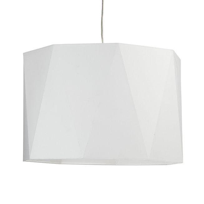 Diamant Suspension non-électrifiée D45cm en coton blanc