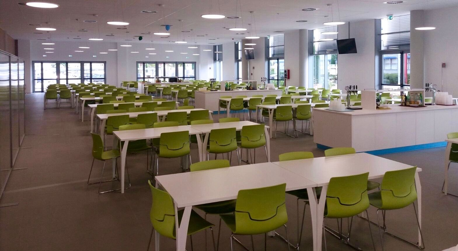 Company canteen furniture project this time we are in bari italy