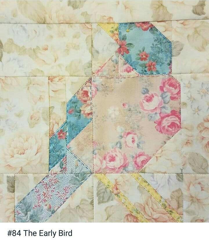 Block 84 designed by Joan Ford: Humming Bird | nähen | Pinterest | Nähen