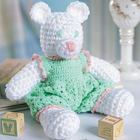 Free Crochet A Winter White Bear Pattern Bears Crochet And Free