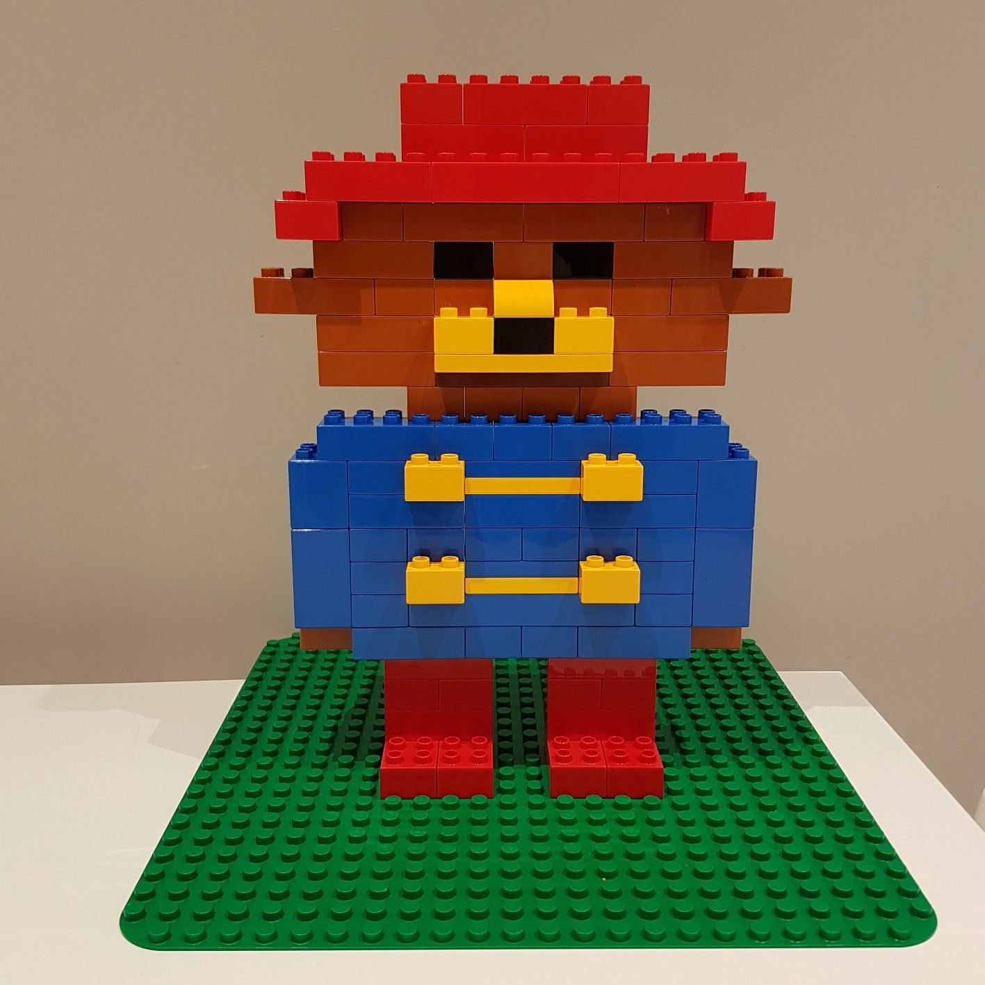 Lego Paddington Bear Sorry For The Mess We Are Learning Here