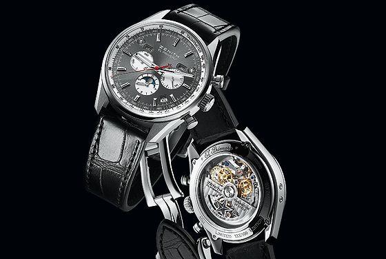 El Primero Chronomaster 410 500le 2k13 Automatic Watches For Men Watches Women Leather Watches For Men