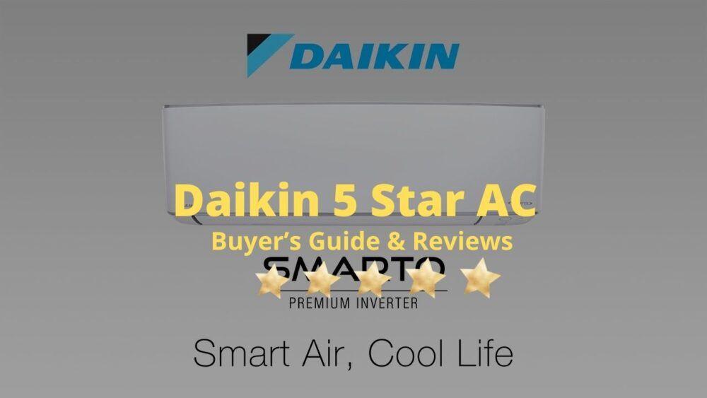 Daikin 1 5 Ton 5 Star Inverter Ac Best Reviewed In 2020 Air