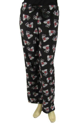 Disney Womens Mickey Mouse Lounge Pant with Drawstring