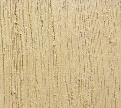 grass cloth wall texture created with joint compound and a brush