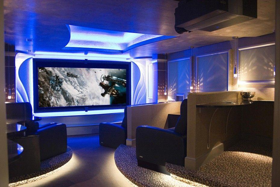 Media room - Decorations Interior Fascinating Media Room Ideas