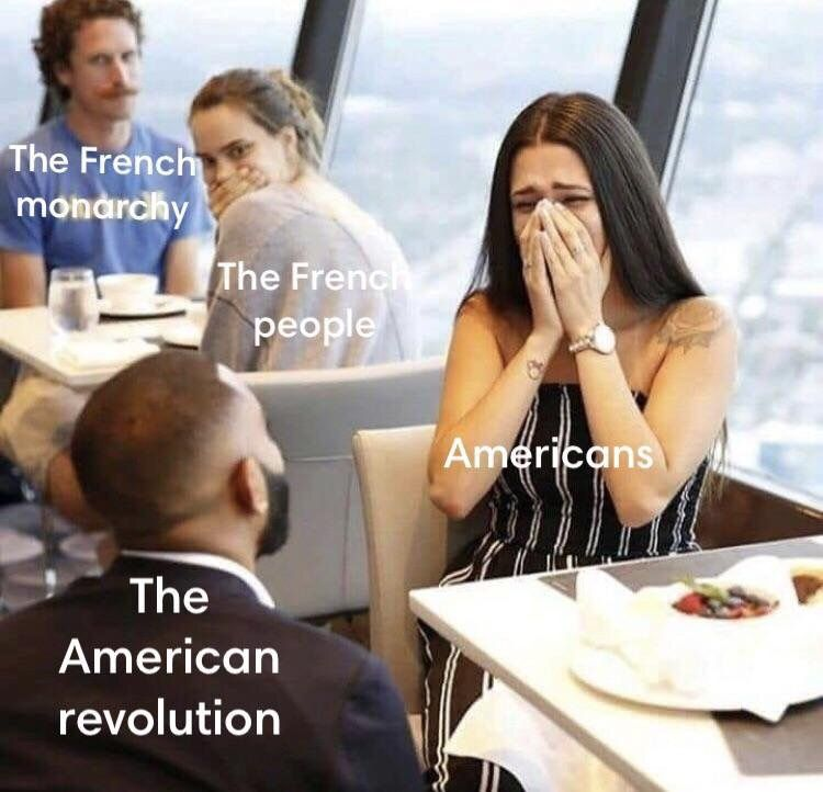 Historical Memes The French Revolution In 2020 History Jokes History Memes Historical Memes
