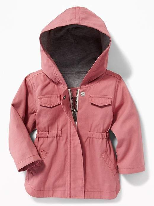 6a8c6dc8b Hooded Utility Parka for Baby