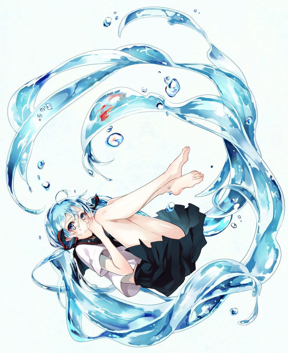 水へ / Artist: http://www.pixiv.net/member.php?id=1752240