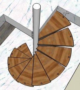 resultado de imagen para caracol estructura madera
