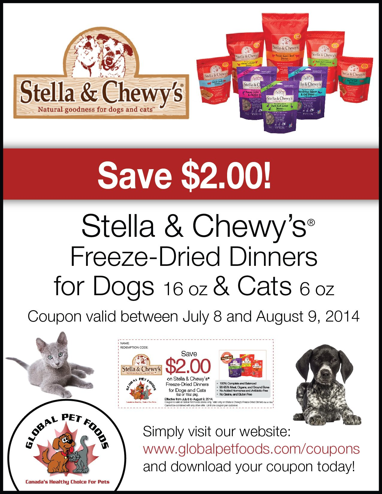 photograph about Stella and Chewy Printable Coupons named Countrywide Working day Of Reconciliation The Speediest Stella And