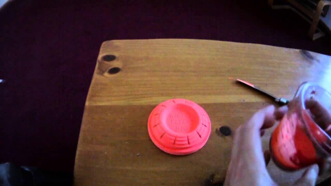 Homemade Diy Flash Clay Targets Range Gear Clay Diy Clay Target