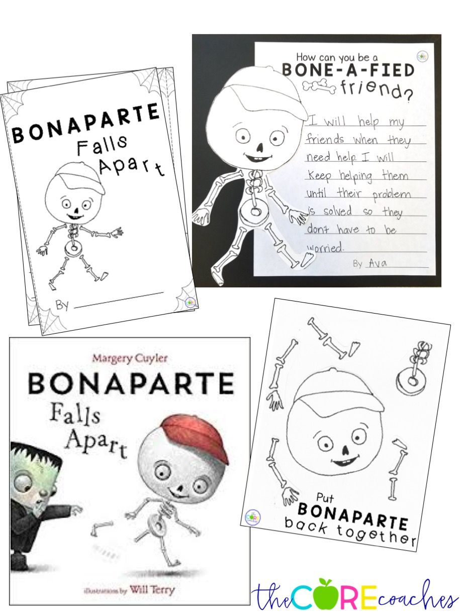 Bonaparte Falls Apart: Interactive Read-Aloud Lesson Plans