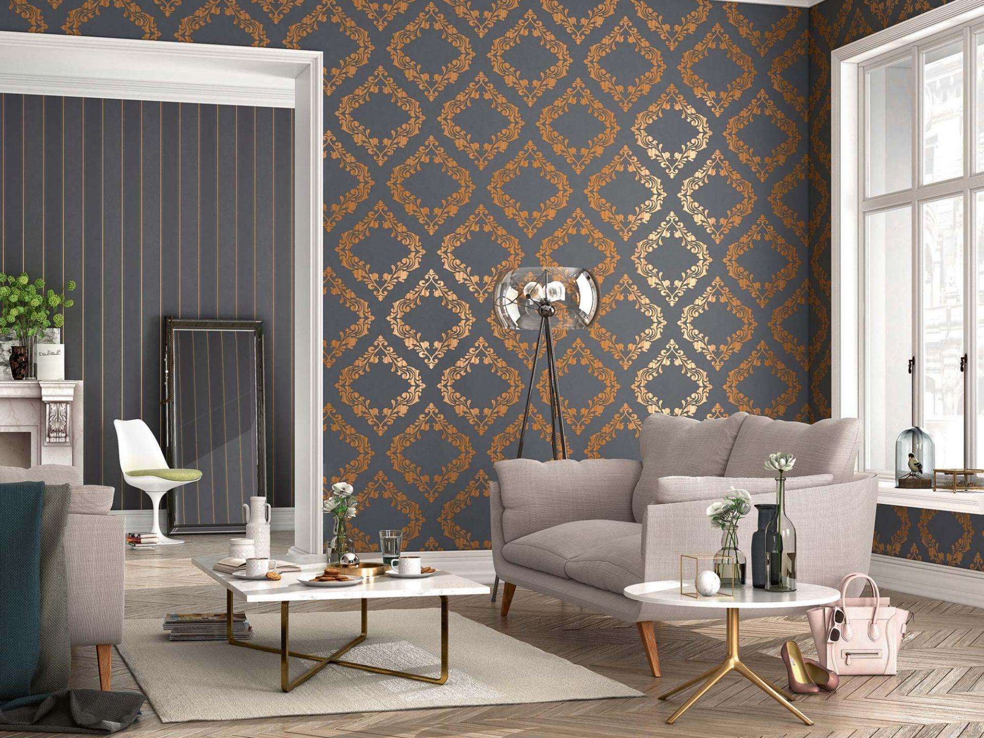 schöne tapeten fürs wohnzimmer | Pinterest