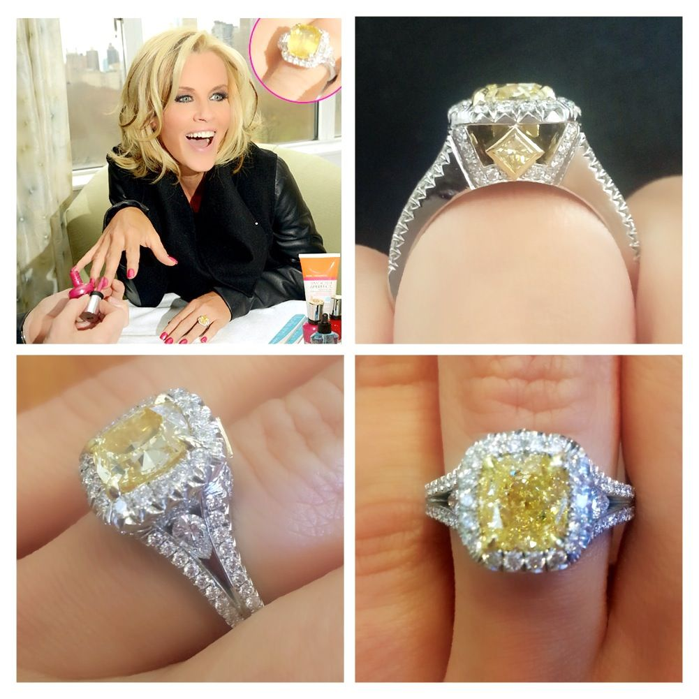 Jenny Mccarthy Said Yes To A Yellow Diamond Engagement Ring From Donnie Wahlberg We Ve Got The Perfect Option For Those Dare Be Diffe