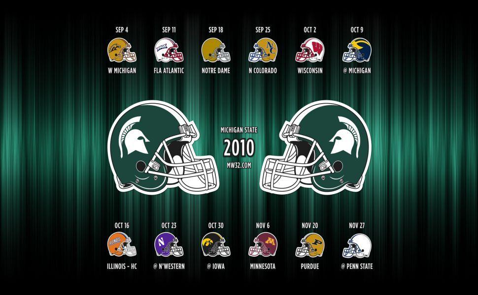 Msu Football Hd Wallpaper Michigan State Spartans Msu Football Wallpaper
