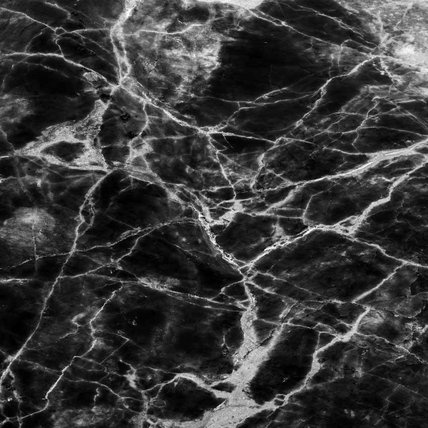Marble Black Printed Floor or Backdrop - 1199 - Heavyweight Cloth / 8'w x 8'h