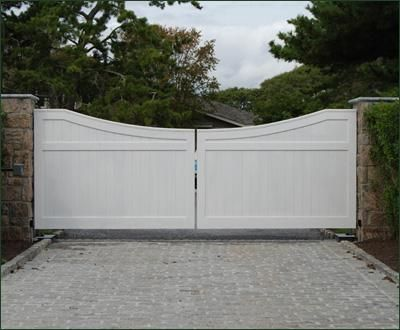 Cellular Vinyl Universal Privacy Gate Entrance Gates