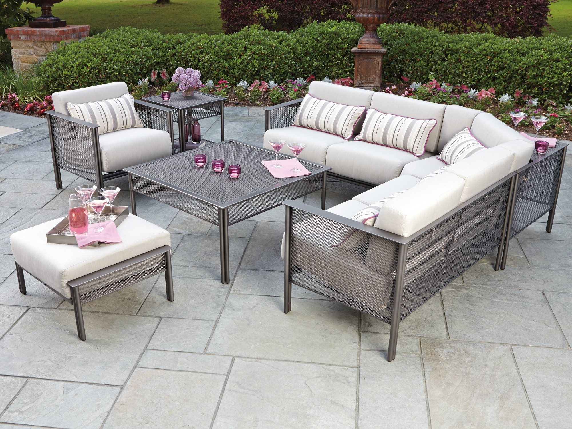 Woodard Jax Sectional Set JAXSECTSET