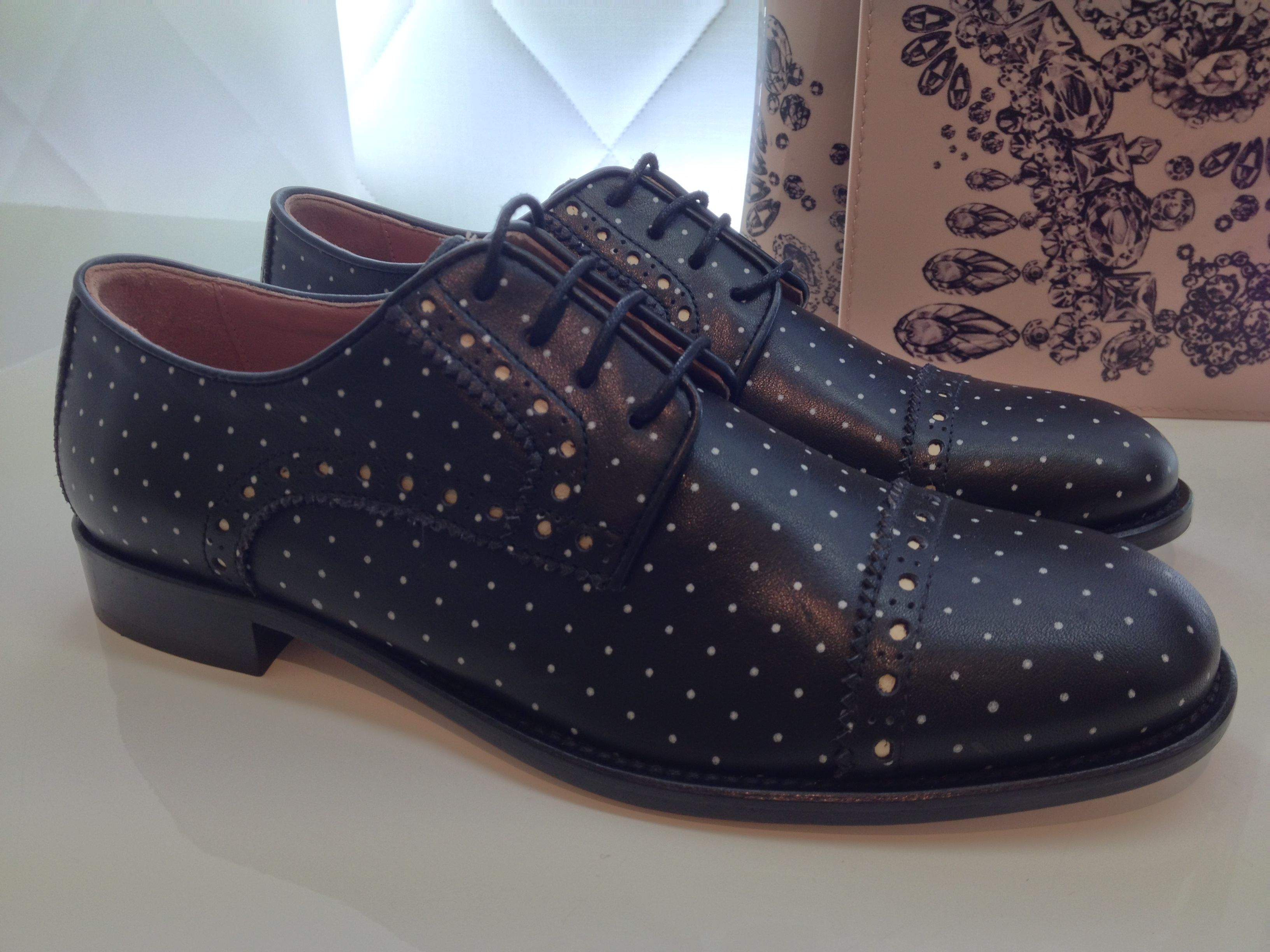 Red Valentino Brogues - polka dots give a playful update