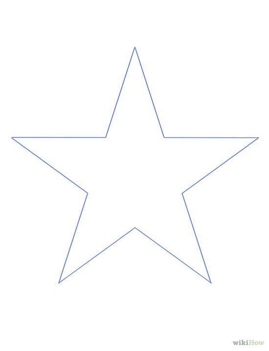 23 Como hacer una estrella de cinco picos