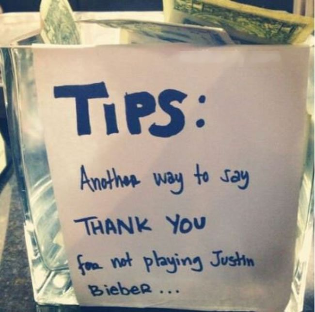 Humor Inspirational Quotes For Jar: These Tip Jars Will Definitely Get Money