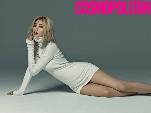 Nana de After School muestra su fantástica figura en Cosmopolitan