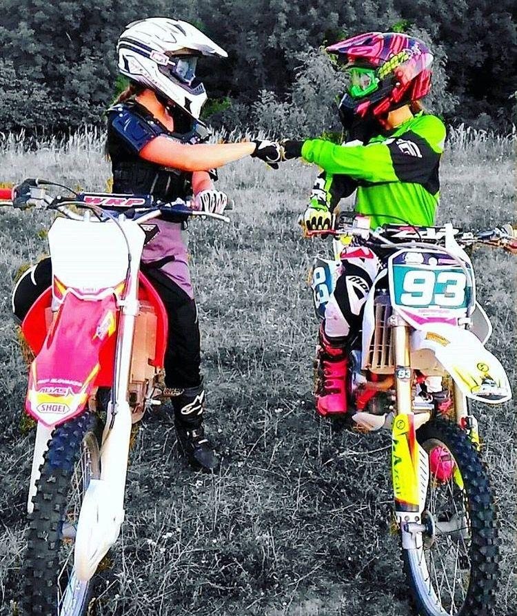 Off Road Riding Motocross Girls Dirt Bikes Bike Couple