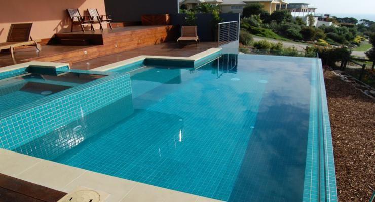 piscinas modernas terrazas madera Jardín Pinterest Piscinas - terrazas en madera