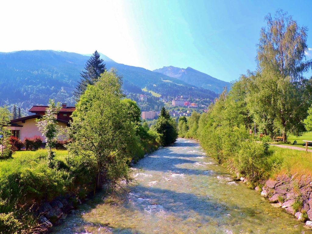 Die Alpentherme Gastein still oder prickelnd? Therme