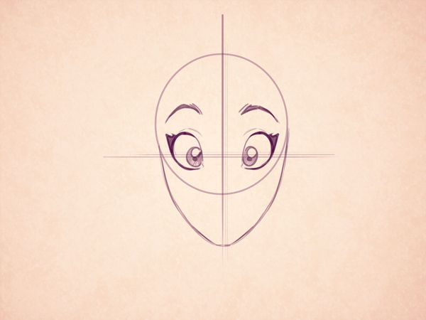 Line Drawing Cartoon Face : The female form can be difficult to draw whether in a realistic