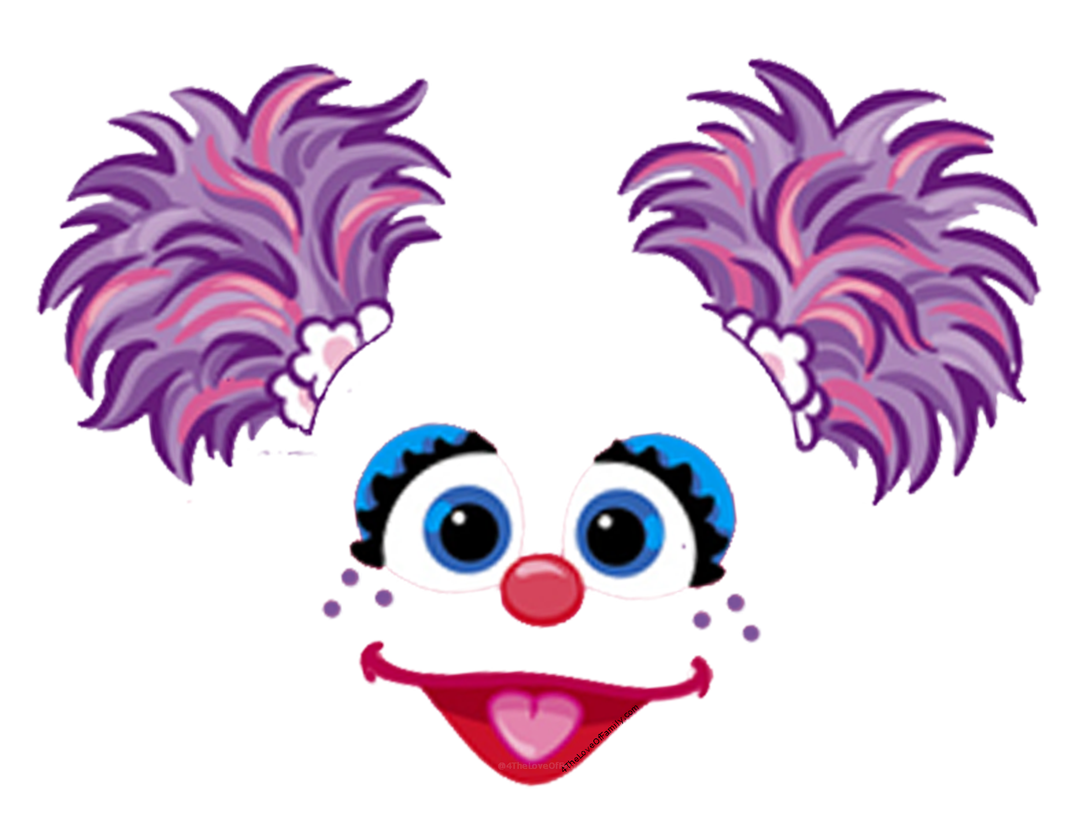Could Use These For So Many Things Free Sesame Street Font And Face Printables From 4 The Love