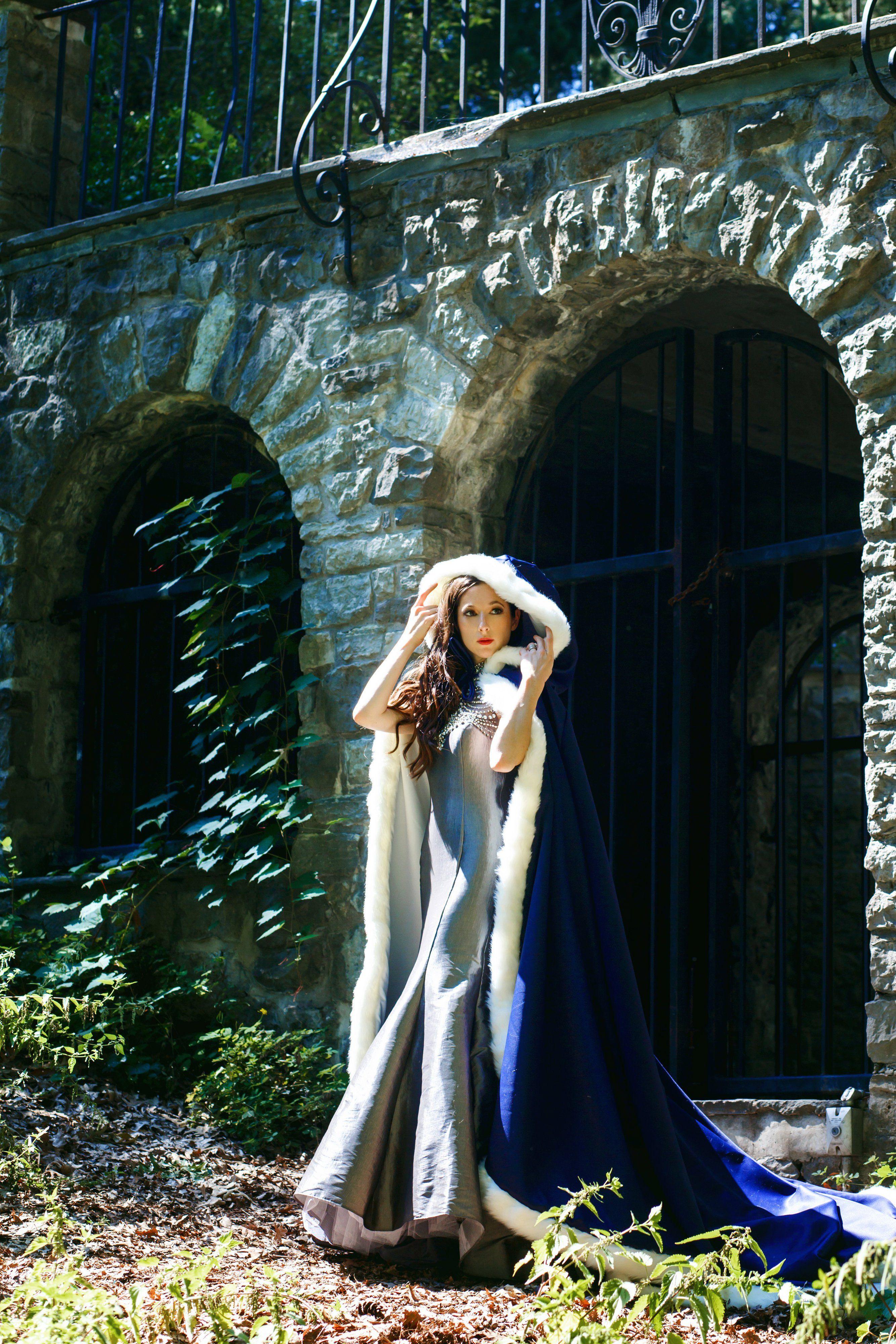 fairytale wedding Bridal cape, Wedding cloak, Bridal