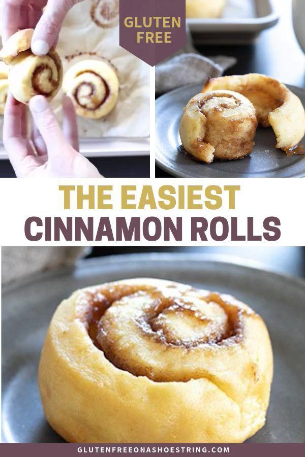 Easy Gluten Free Cinnamon Rolls | Breakfast On The Go