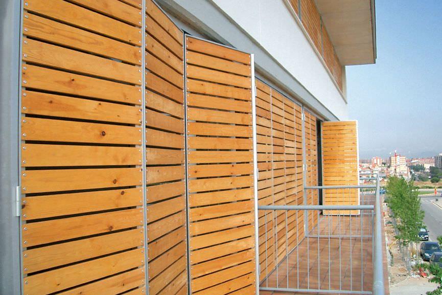 Contraventanas plegables / de madera / para fachadas - Tamiluz ...