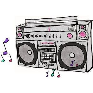 Download Hd Clip Royalty Free Cassette Clipart Tv Radio Cartoon Boombox Png Transparent Png And Use The Free Clipart For You Clip Art Tv On The Radio Boombox