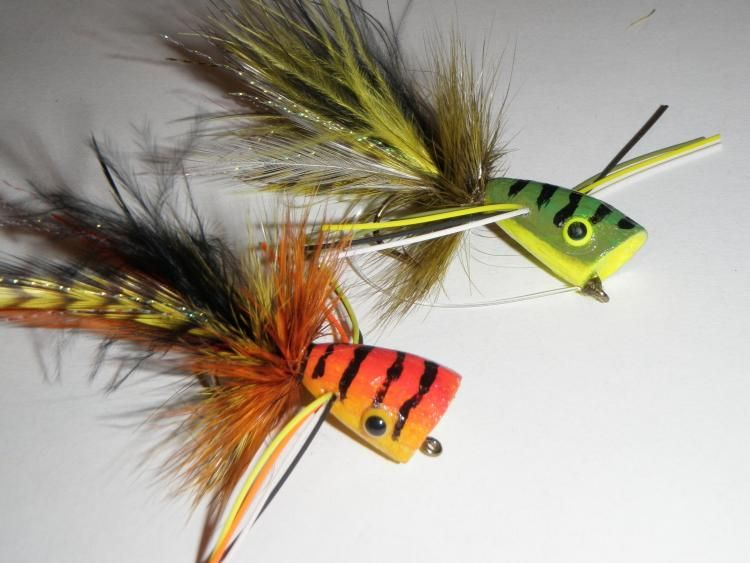 Balsa wood poppers fishing for Fishing poppers for bass