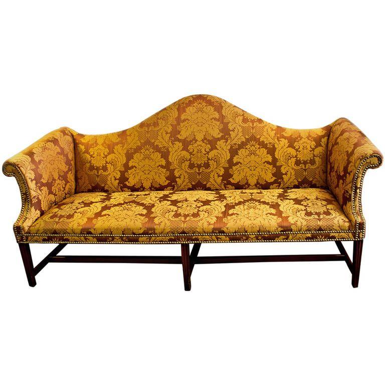 Astounding 18Th Century American Chippendale Camelback Sofa Tables Inzonedesignstudio Interior Chair Design Inzonedesignstudiocom