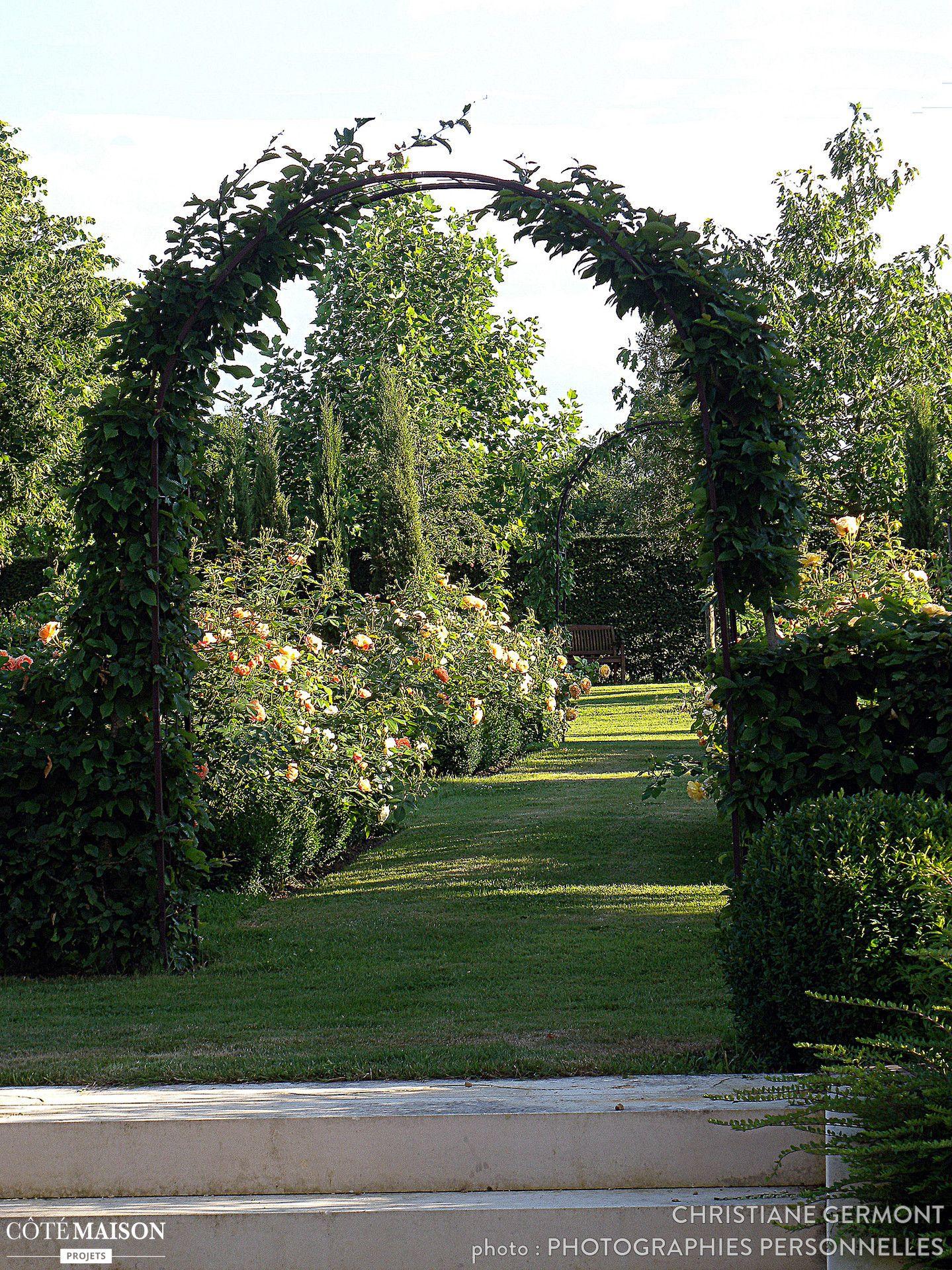 SaintGermain de la Coudre. Jardins, Design d